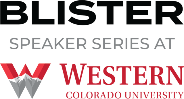 Blister Speaker Series at Western Colorado University