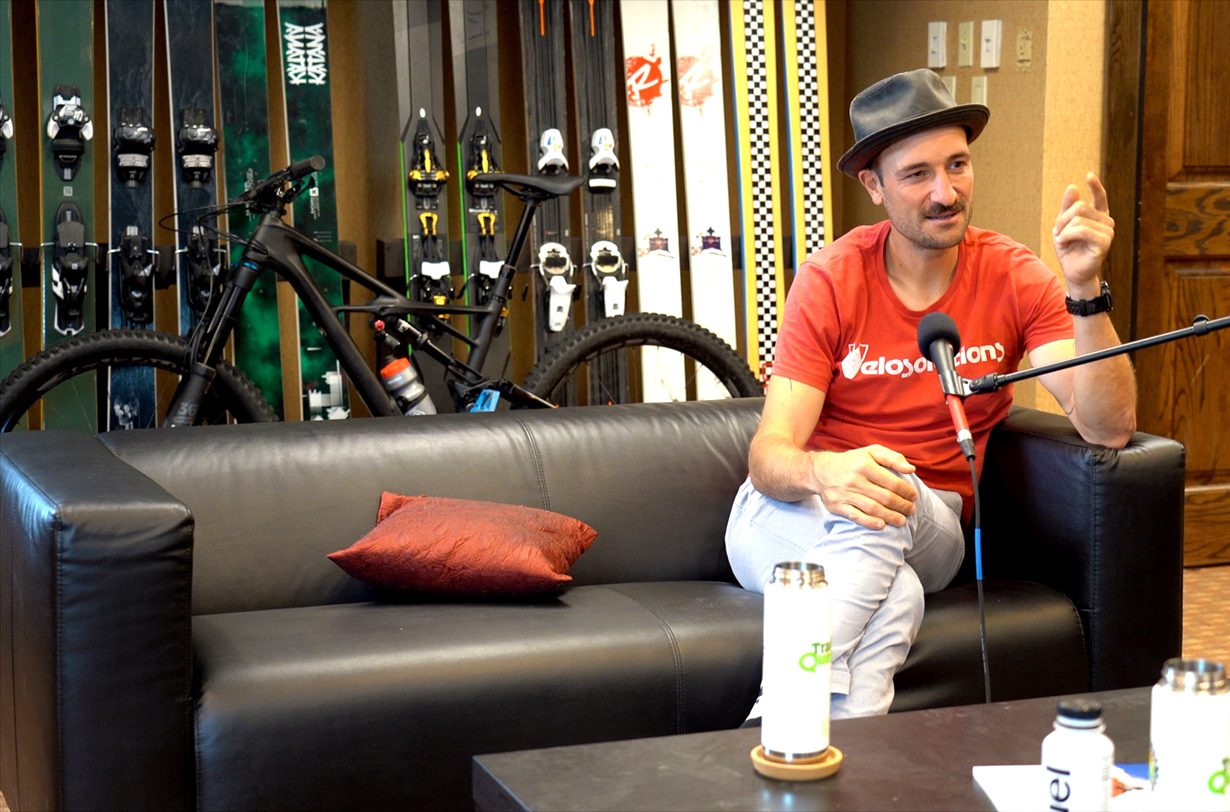 Jonathan Ellsworth talks with Claudio Caluori on Blister's Bikes & Big Ideas podcast about the 2019 UCI World Cup Downhill Season