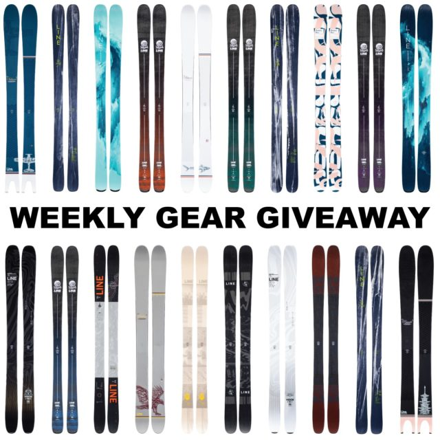 Win Line Skis; Blister Gear Giveaway