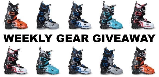 win Scarpa Maestrale or Gea ski-touring boots; Blister Gear Giveaway