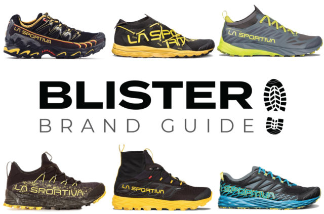 Blister Brand Guide: Blister provides an overview of La Sportiva's entire trail running / mountain running shoe lineup