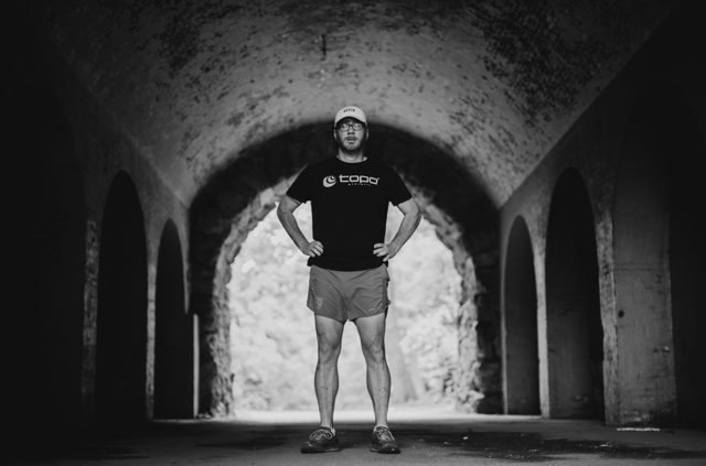Kyle Robidoux goes on Blister's Off The Couch podcast to discuss how running has helped him as someone with limited vision, including running dozens of marathons and ultramarathons