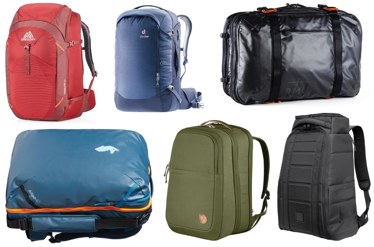 Blister's 2019 Travel Backpack roundup