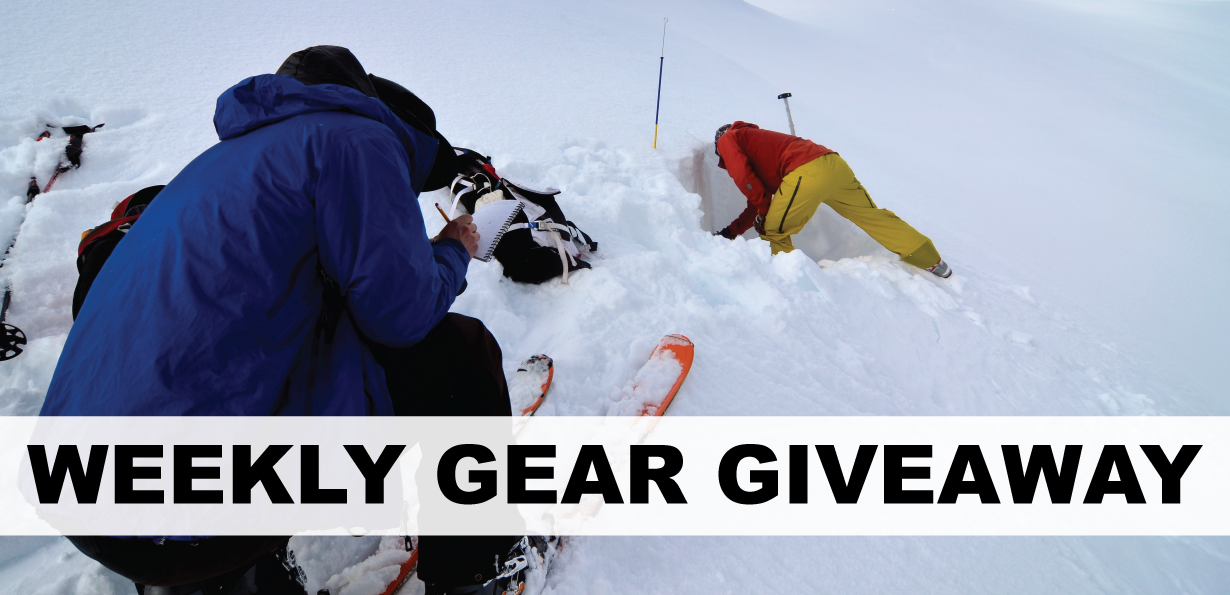 Win an avalanche safety course with 57hours; Blister Gear Giveaway