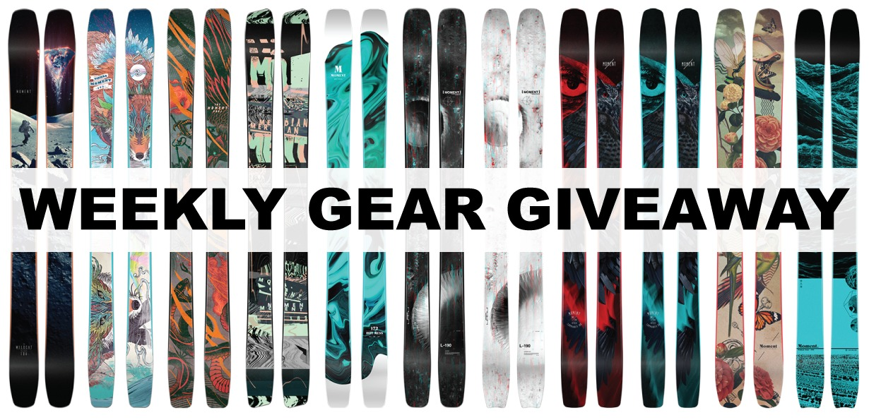 Win Moment Skis; Blister Gear Giveaway
