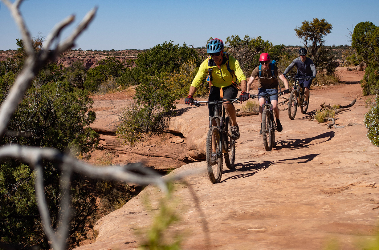 Blister's mountain biking and climbing trip in Moab with 57hours