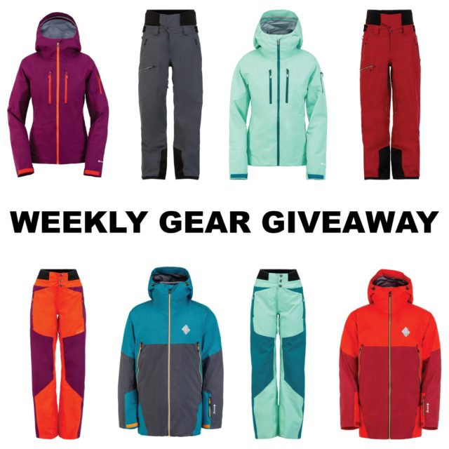 Win outerwear kits from Spyder Freeski; Blister Gear Giveaway