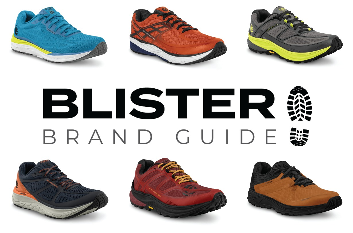 Blister Brand Guide: Topo Athletic's 2019 running shoe guide