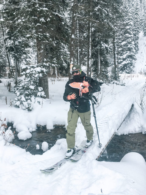 Cy Whitling reviews the FW Manifest 3L Jacket & Pants for Blister