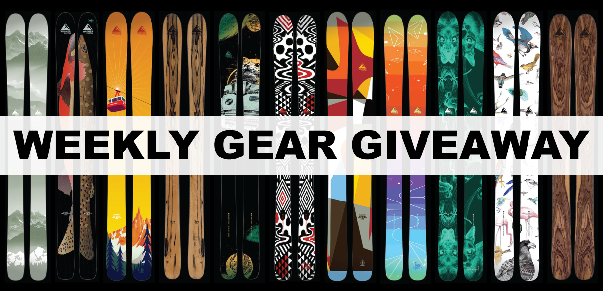 Win custom Wagner skis; Blister Gear Giveaway
