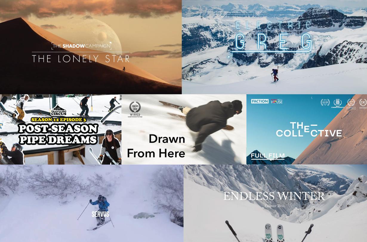 Blister's Ski Video Roundup, December 2019