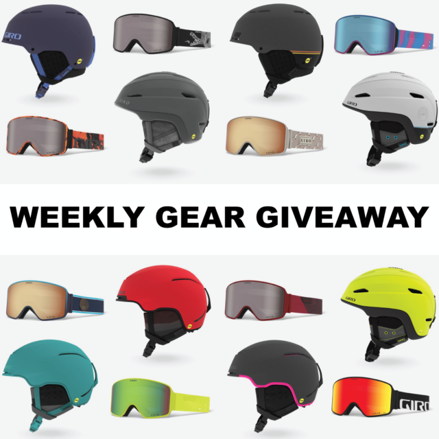 Blister Gear Giveaway: win a helmet and goggles from Giro