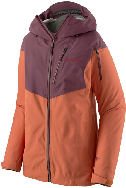Kristin Sinnott reviews the women's Patagonia SnowDrifter Jacket