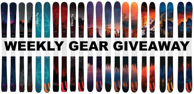 Blister Gear Giveaway; win any Liberty ski