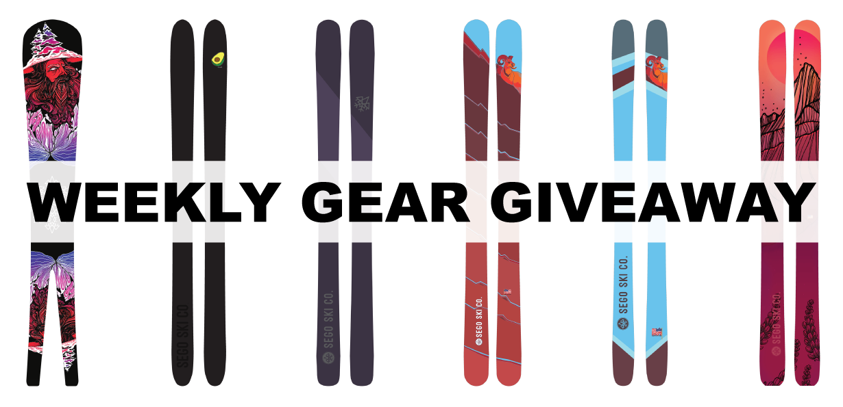 Win any Sego Ski; Blister Gear Giveaway