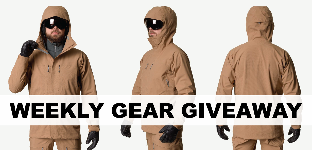 win a Houdini Rollercoaster Jacket; Blister Gear Giveaway