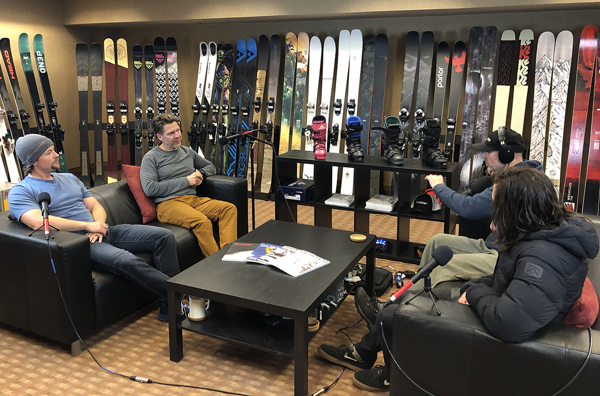 Patagonia's Glen Morden and Corey Simpson go on Blister's GEAR:30 Podcast to discuss the brand's efforts to increase sustainability and performance in their products.