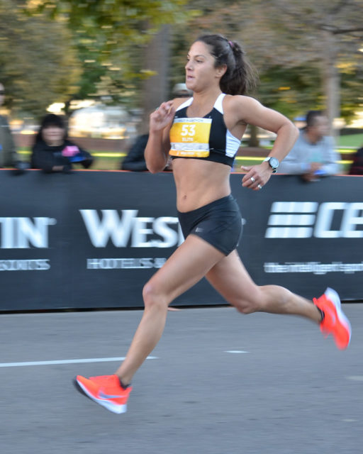 Nell Rojas goes on Blister's Off The Couch podcast to discuss training for the USA Olympic Marathon Team