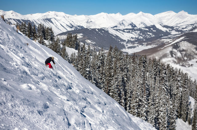 Jonathan Ellsworth and Luke Koppa review the Black Crows Atris for Blister in Crested Butte, Colorado.