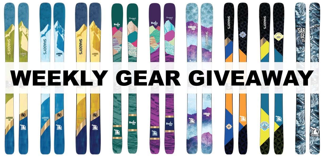 Win any ski from Shaggy's; Blister Gear Giveaway