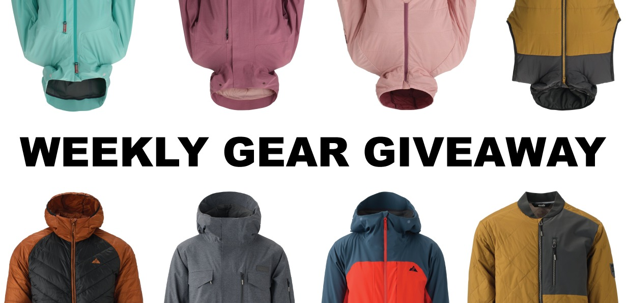 Win any Strafe insulated jacket; Blister Gear Giveaway
