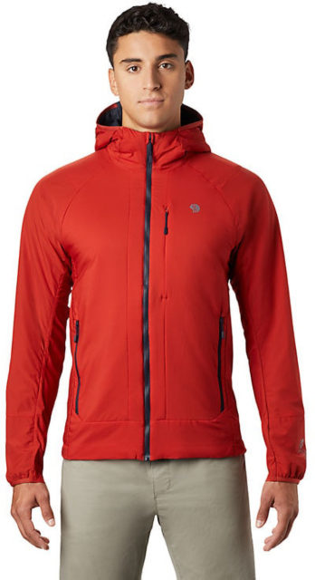 Sam Shaheen & Luke Koppa review the Mountain Hardwear Kor Cirrus Hybrid Hoody for Blister