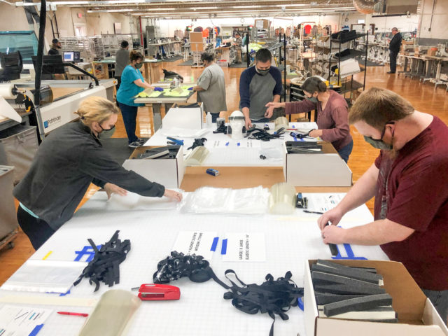 Kitsbow, Industry Nine, Shaggy's Copper Country Skis discuss manufacturing PPE during the coronavirus pandemic on Blister's Bikes & Big Ideas Podcast.