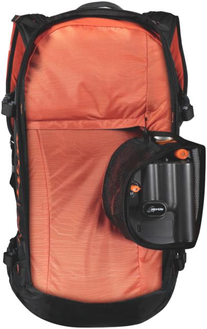 Paul Forward and Luke Koppa review the Scott Patrol E1 30 avalanche airbag backpack for Blister