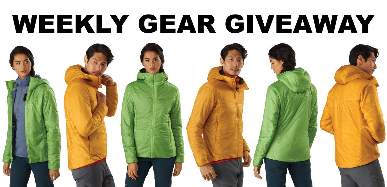 Win Arc'teryx Nuclei FL jackets; Blister Gear Giveaway