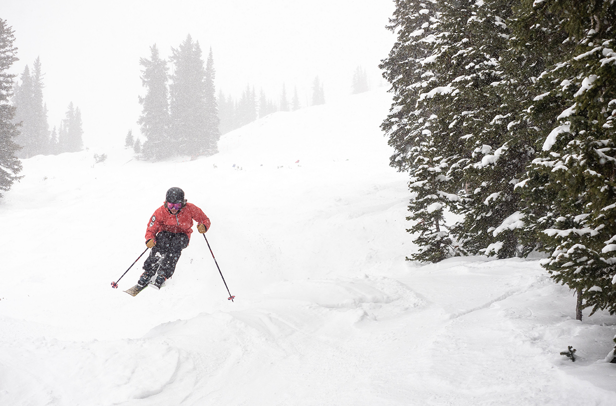 Luke Koppa reviews the Rossignol BLACKOPS Sender for Blister in Crested Butte, Colorado.