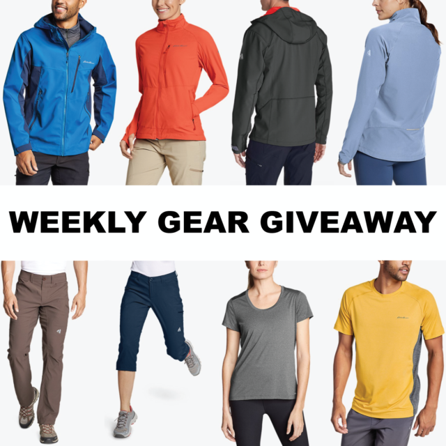 Eddie Bauer Hiking Giveaway; Blister Gear Giveaway