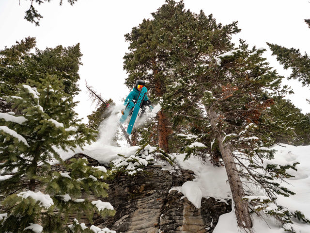 Luke Koppa reviews the Black Diamond Mission Ski Shell & Mission Pants for Blister in Crested Butte, CO.