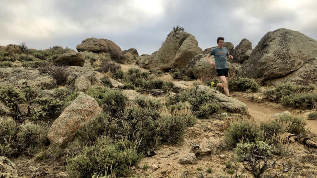 Gordon Gianniny reviews the Hoka One One EVO Speedgoat for Blister in Gunnison, Colorado