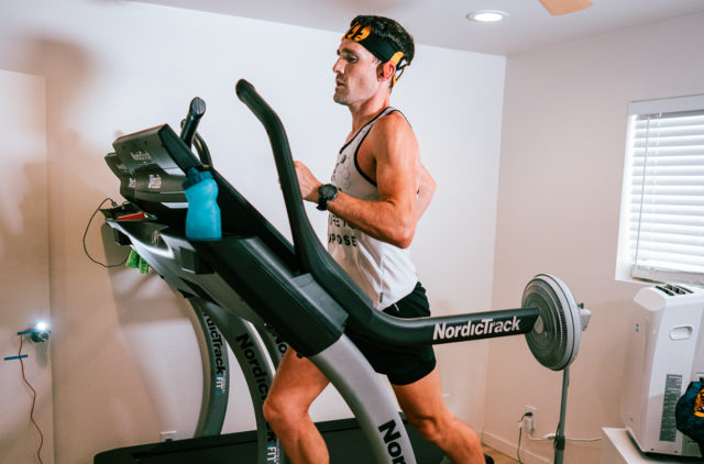 Zach Bitter goes on Blister's Off The Couch podcast to discuss his world record fastest 100 miles on a treadmill