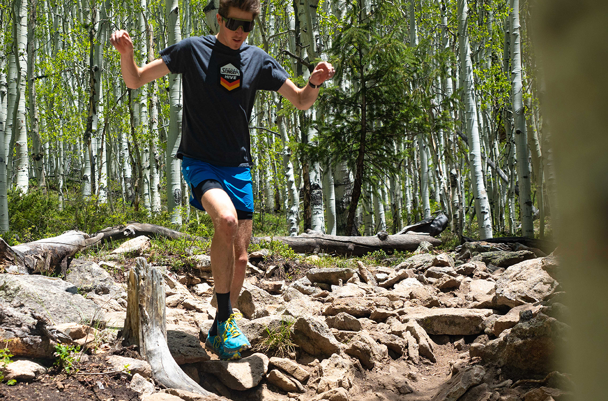 Gordon Gianniny reviews the Hoka One One Evo Jawz for Blister in Crested Butte, Colorado.