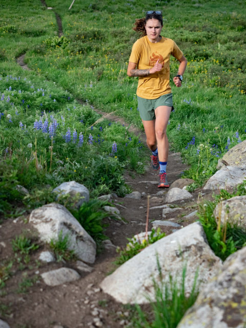 Maddie Hart reviews the La Sportiva Helios III for Blister in Crested Butte, Colorado.