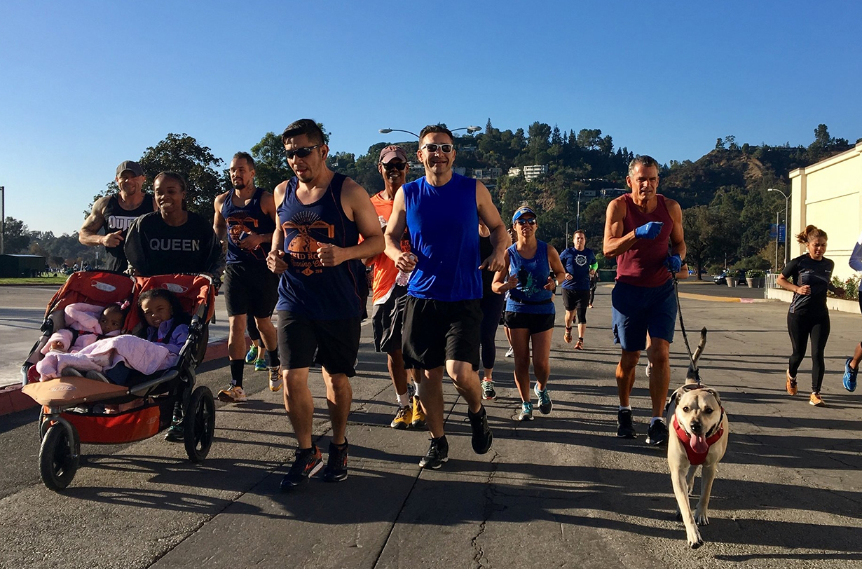 Judge Craig Mitchell goes on Blister's Off The Couch podcast to discuss the Skid Row Running Club