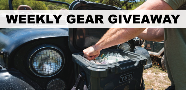 Win a YETI Cooler, BLISTER