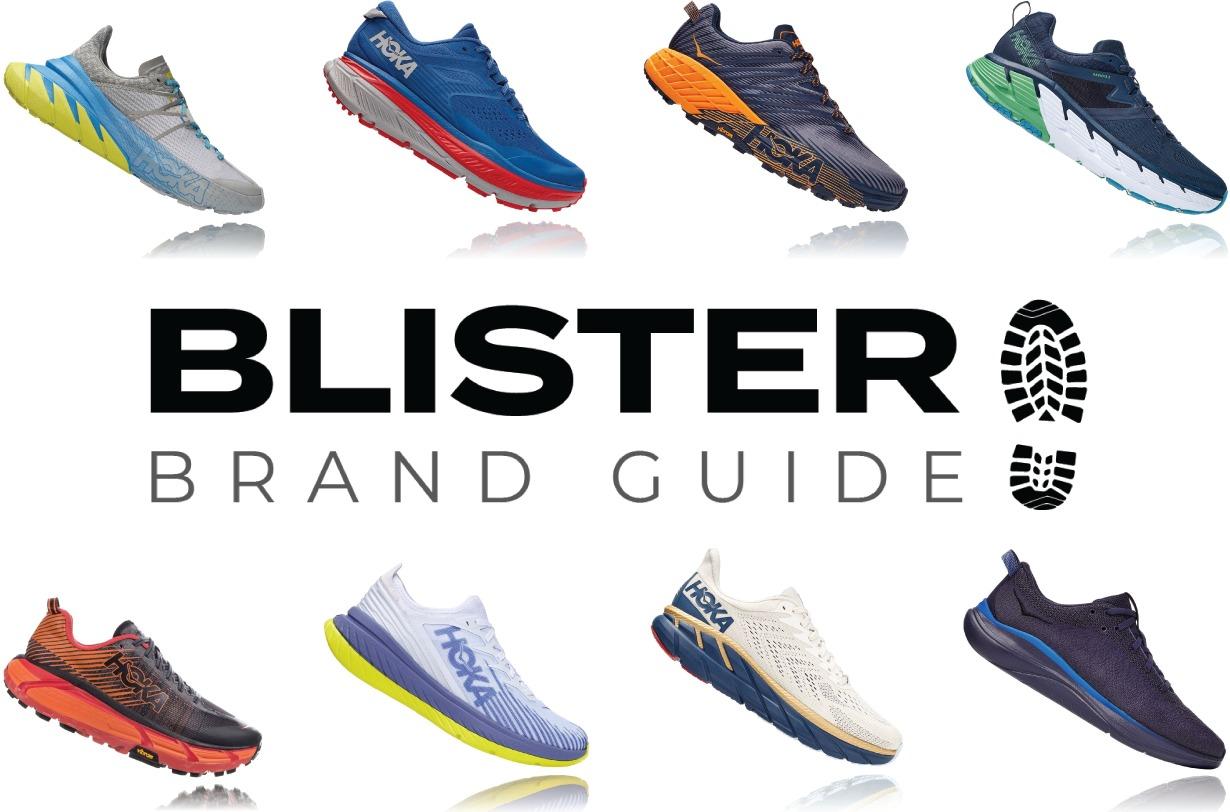Blister Brand Guide: Hoka One One Shoe