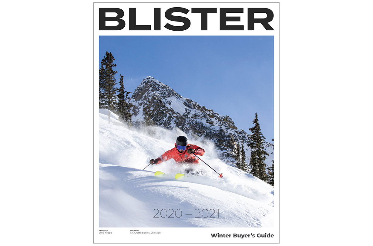 order Blister's 2020-2021 Winter Buyer's Guide