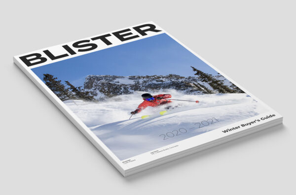 order Blister's 2020-2021 Winter Buyer's Guide