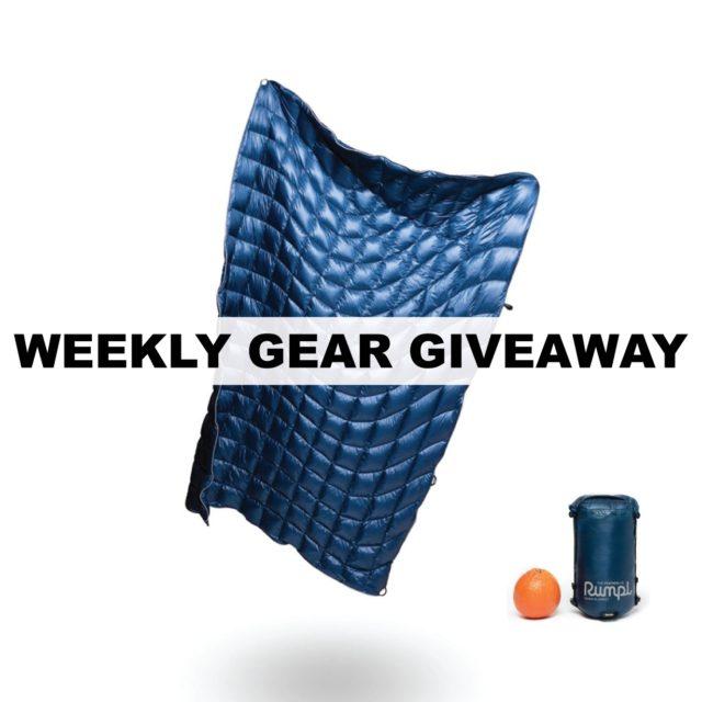 Win Ultralight Down Blankets from Rumpl, BLISTER