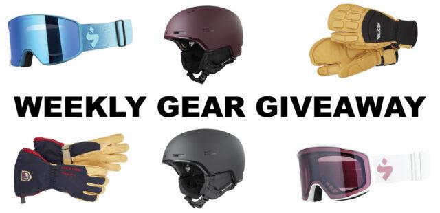 Win Hestra Gloves + Sweet Protection Helmet & Goggles, BLISTER