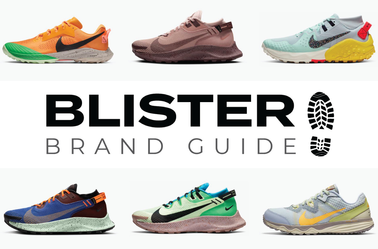 Blister Brand Guide: Blister covers the 2020 Nike Trail running shoe lineup