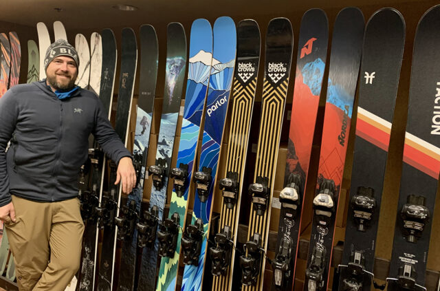 Boise Gear Collective founder, Tyson Stellrecht went to Blister HQ at Mt. Crested Butte, Colorado to discuss on their GEAR:30 Podcast running his shop, the used-gear ski and snowboard market, why Tyson is not getting into e-commerce, and more