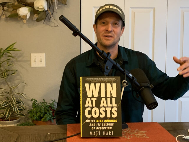 Matt Hart, author of Win At All Costs, goes on Blister's Off The Couch Podcast to discuss the book, PEDs in a variety of sports, and more