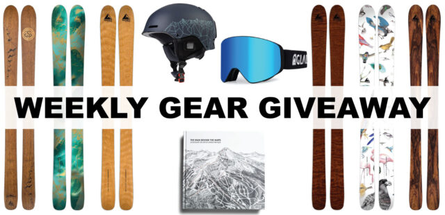 Win Wagner Skis + Glade Goggles & Helmet + James Niehues Book, BLISTER