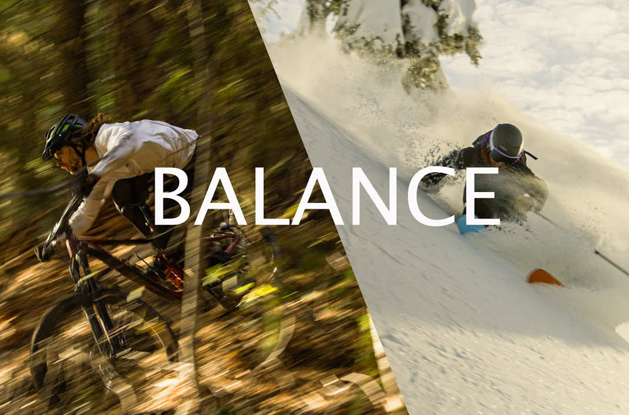 Sage Cattabriga-Alosa goes on Blister's Bikes & Big Ideas Podcast to discuss his new film, Balance, skiing vs mountain biking, and more