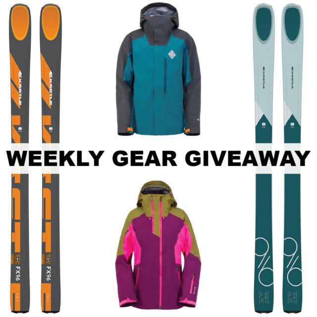 Win Kastle Skis & Spyder Jackets, BLISTER