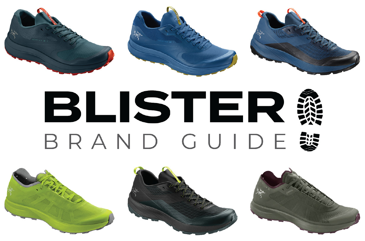 Blister Brand Guide: Blister details, differentiates, and explains the shoes in the Arc'teryx 2021 running shoe lineup